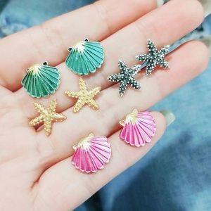 Jewelry - Seashells Starfish Earrings